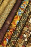 Tela do Quilt Foto de Stock Royalty Free