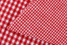 Tela do Tablecloth fotografia de stock