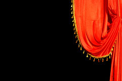 Tela do vermelho da fase Foto de Stock Royalty Free