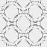 A tela do vetor circunda o teste padrão sem emenda abstrato ilustração do vetor