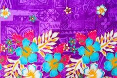 Tela do vintage das flores para o fundo Fotos de Stock
