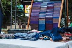Tela dos sarongues Imagens de Stock Royalty Free