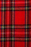 Tela escocesa Fotografía de archivo
