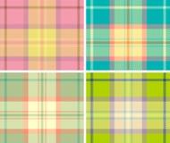 Tela escocesa Imágenes de archivo libres de regalías