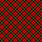 Tela escocesa Fotos de archivo libres de regalías