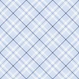 Tela escocesa azul clara Imagen de archivo libre de regalías