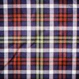 Tela escocesa azulverde escocesa Fotos de archivo
