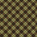 Tela escocesa clásica Foto de archivo libre de regalías