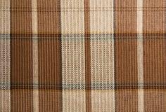 Tela escocesa controlada Fotografía de archivo libre de regalías