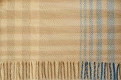 Tela escocesa de las lanas Fotos de archivo
