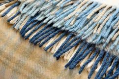 Tela escocesa de las lanas Imagen de archivo libre de regalías