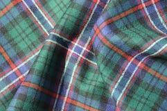 Tela escocesa de tartán escocesa Imágenes de archivo libres de regalías