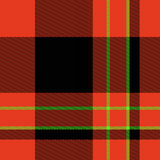 Tela escocesa de tartán escocesa Foto de archivo