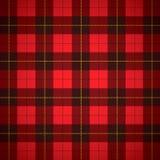 Tela escocesa del escocés del tartán de Wallace Imágenes de archivo libres de regalías