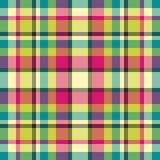 Tela escocesa del resorte Imagenes de archivo
