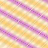 Tela escocesa en colores pastel Foto de archivo