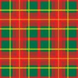 Tela escocesa escocesa Imagen de archivo