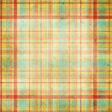 Tela escocesa inconsútil Foto de archivo libre de regalías