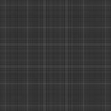 Tela escocesa negra Stock de ilustración