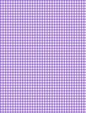 Tela escocesa púrpura y blanca Imágenes de archivo libres de regalías