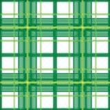 Tela escocesa verde Fotos de archivo