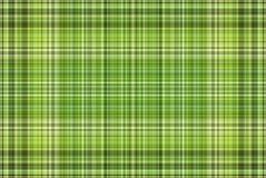 Tela escocesa verde Ilustración del Vector