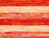 Tela feita malha laranja Foto de Stock Royalty Free