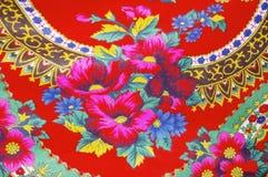 Tela floral Imágenes de archivo libres de regalías