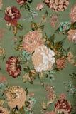 Tela floral del vintage Imágenes de archivo libres de regalías