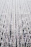 Tela gris de la raya Imagenes de archivo