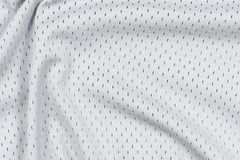 Tela gris del jersey Imágenes de archivo libres de regalías