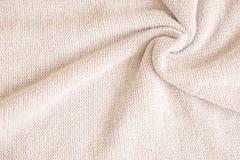 Tela hecha de lanas Foto de archivo