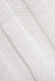 Tela hecha punto blanca. Imagen de archivo libre de regalías