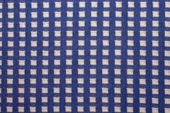 tela hecha punto con los modelos cuadrados, materias textiles hechas punto de las lanas, Fotos de archivo libres de regalías