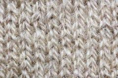 Tela hecha punto de lana Fotos de archivo