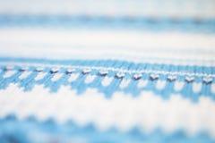 Tela hecha punto de las lanas fotografía de archivo