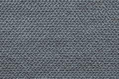 Tela hecha punto textura del color gris Fotos de archivo libres de regalías