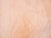 Tela incatramata di tela di canapa Immagini Stock Libere da Diritti