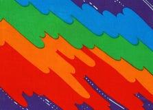 Tela iridiscente Foto de archivo libre de regalías