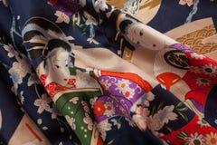 Tela japonesa Fotografía de archivo libre de regalías