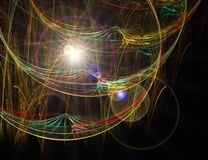 Tela luminosa Imagem de Stock Royalty Free