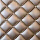 Tela luxuosa do estilo do vintage com textura do botão do sofá Fotos de Stock