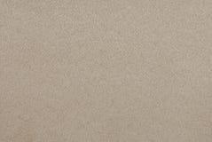 Tela marrón clara del ante Imagenes de archivo