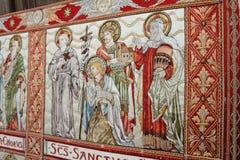 Tela medieval fotografia de stock