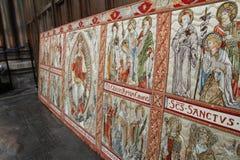 Tela medieval foto de stock