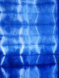 Tela natural del color del añil de Mauhom del conocimiento indígena del pH Imágenes de archivo libres de regalías