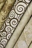 Tela neutra do Quilt Fotografia de Stock Royalty Free