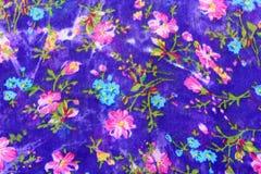 Tela oriental do teste padrão de Floreal Imagens de Stock Royalty Free