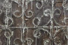 Tela oxidada do metal Fotos de Stock