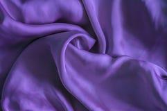 Tela púrpura Fotografía de archivo